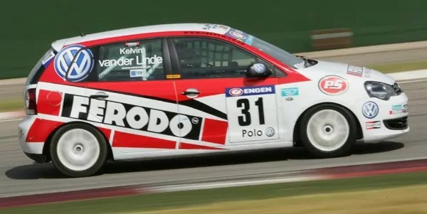Podiums for all four Ferodo racing drivers at Phakisa Freeway
