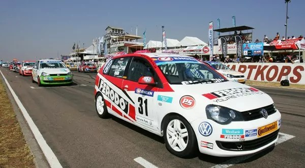 Ferodo Racing's Van der Linde retains lead in Engen VW Cup