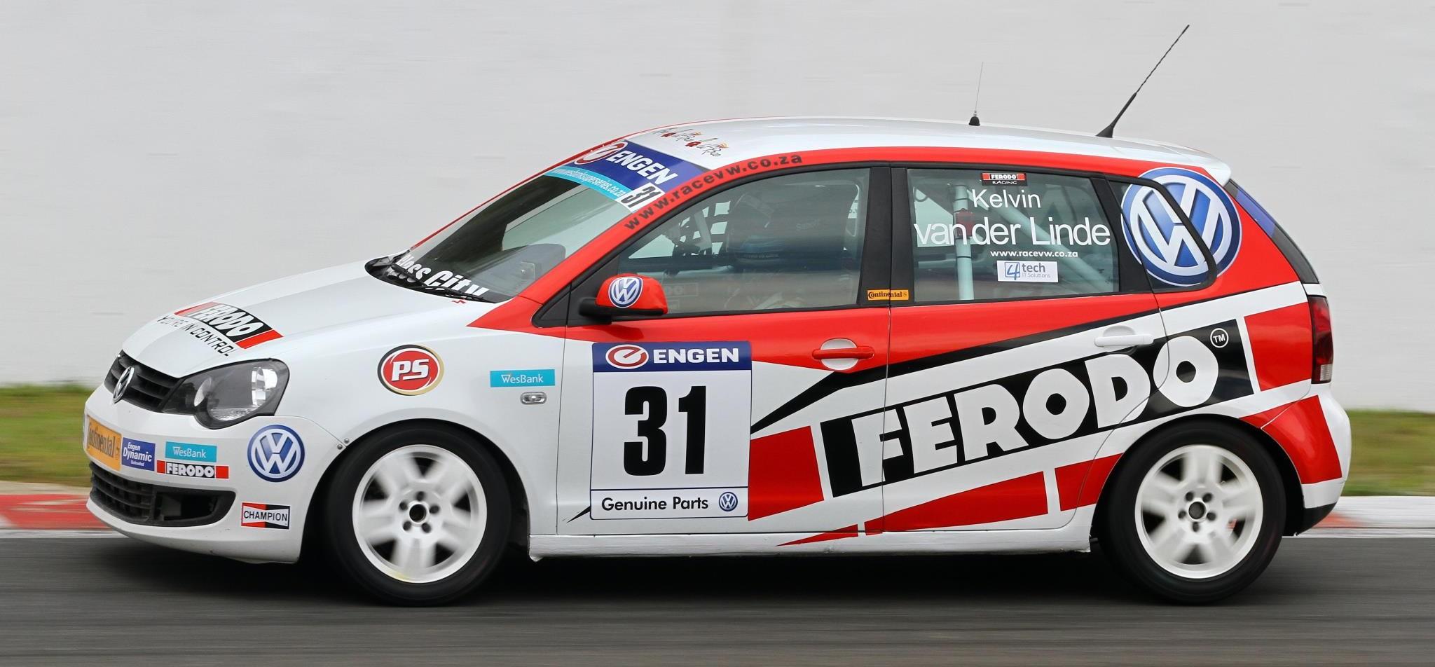 Ferodo Racing's Kelvin van der Linde wins VW Cup
