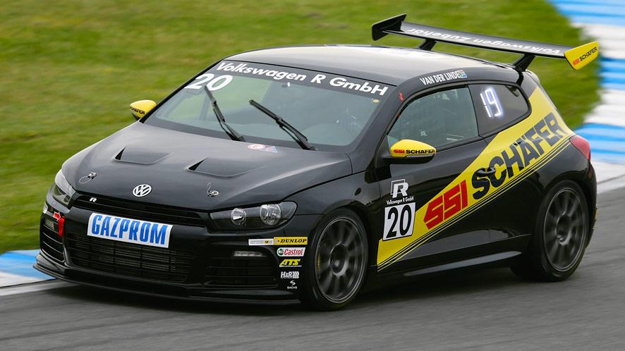 Kelvin van der Linde stuns Germany in VW Scirocco R-Cup official test
