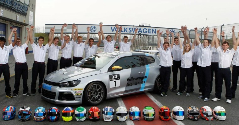 Gripping motorsport with a green conscience: 2013 Scirocco R-Cup season set to start.