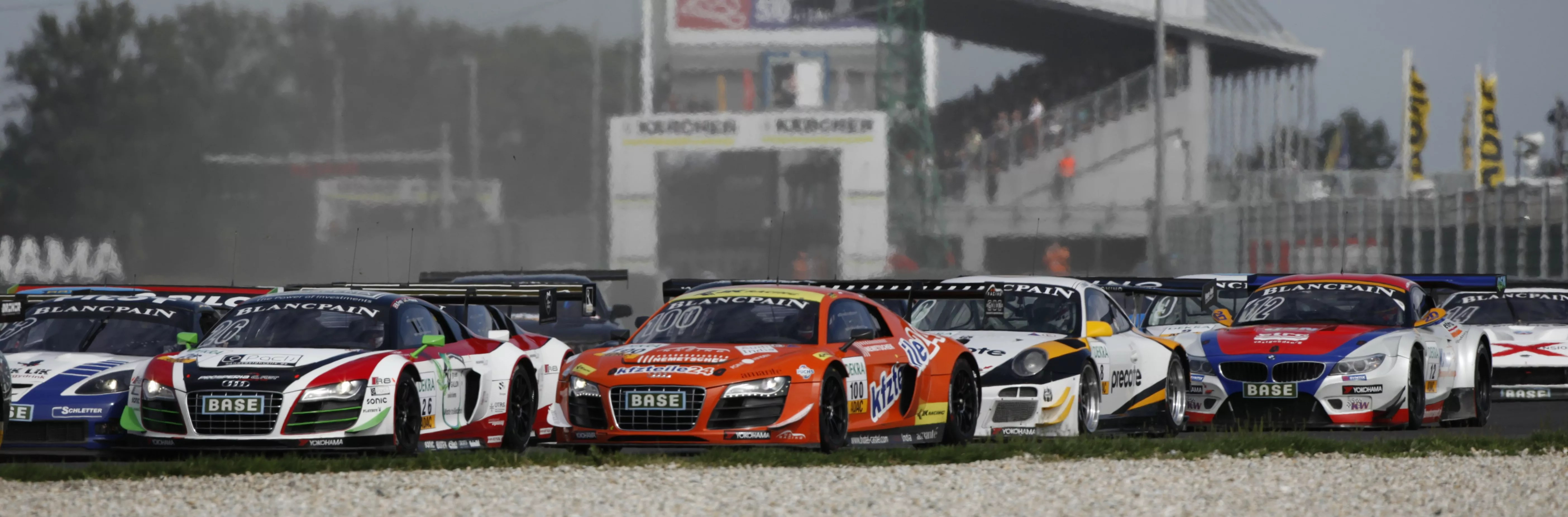 Warm-up for the 2014 ADAC GT Masters