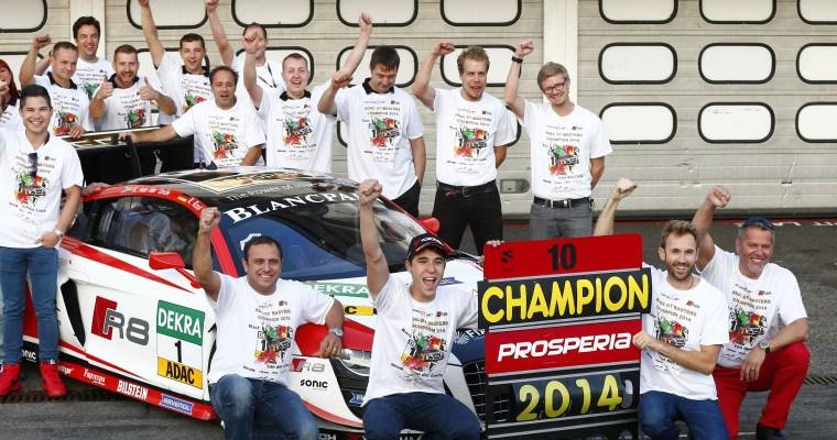 Van der Linde/Rast 2014 Champions!