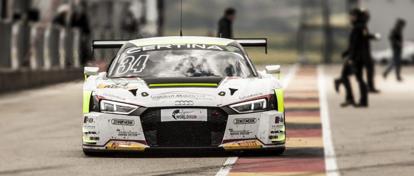 Van der Linde quick but unlucky at Sachsenring ADAC GT Masters
