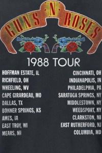 1988tour guns n' roses