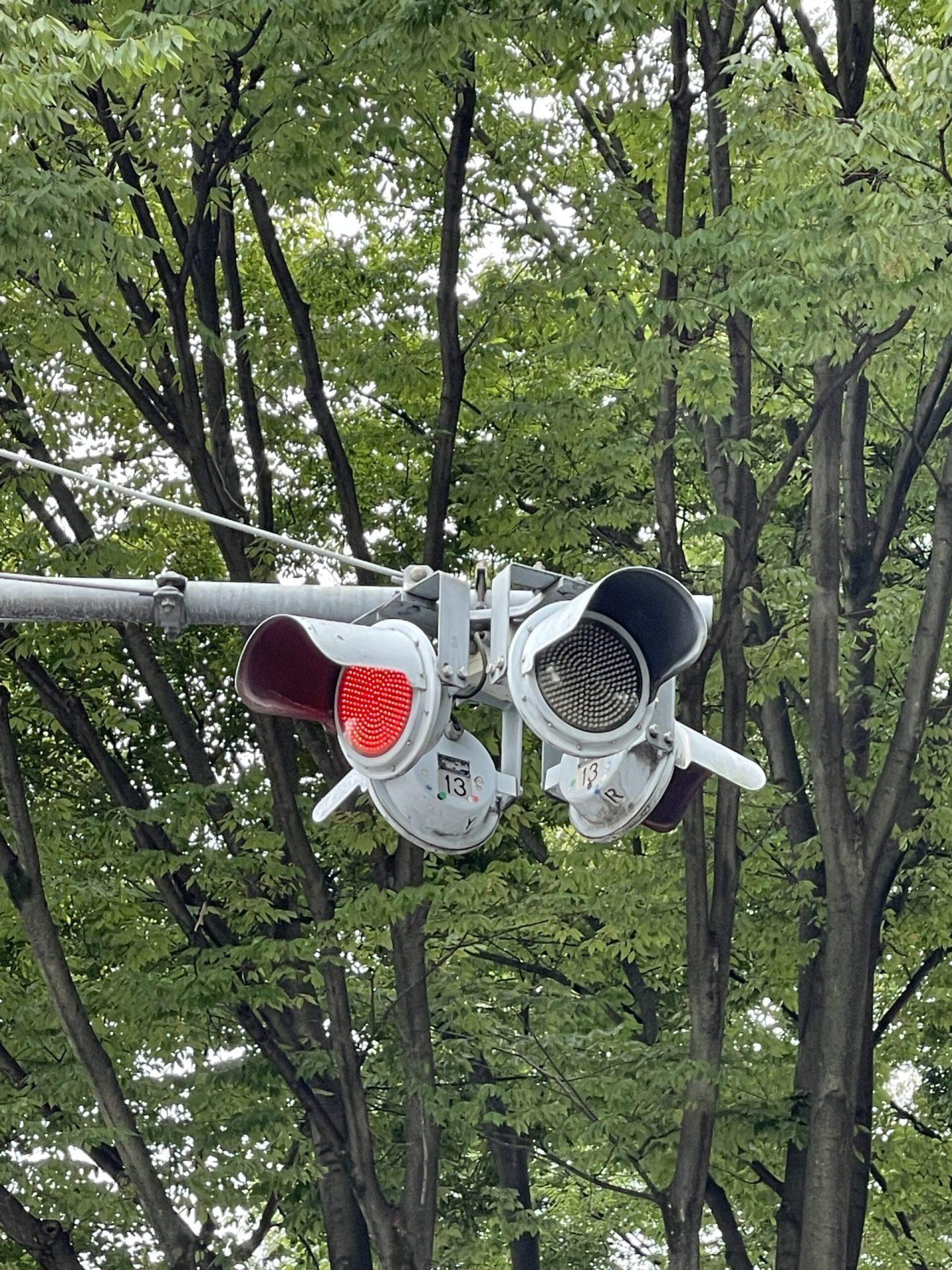 一灯式信号機