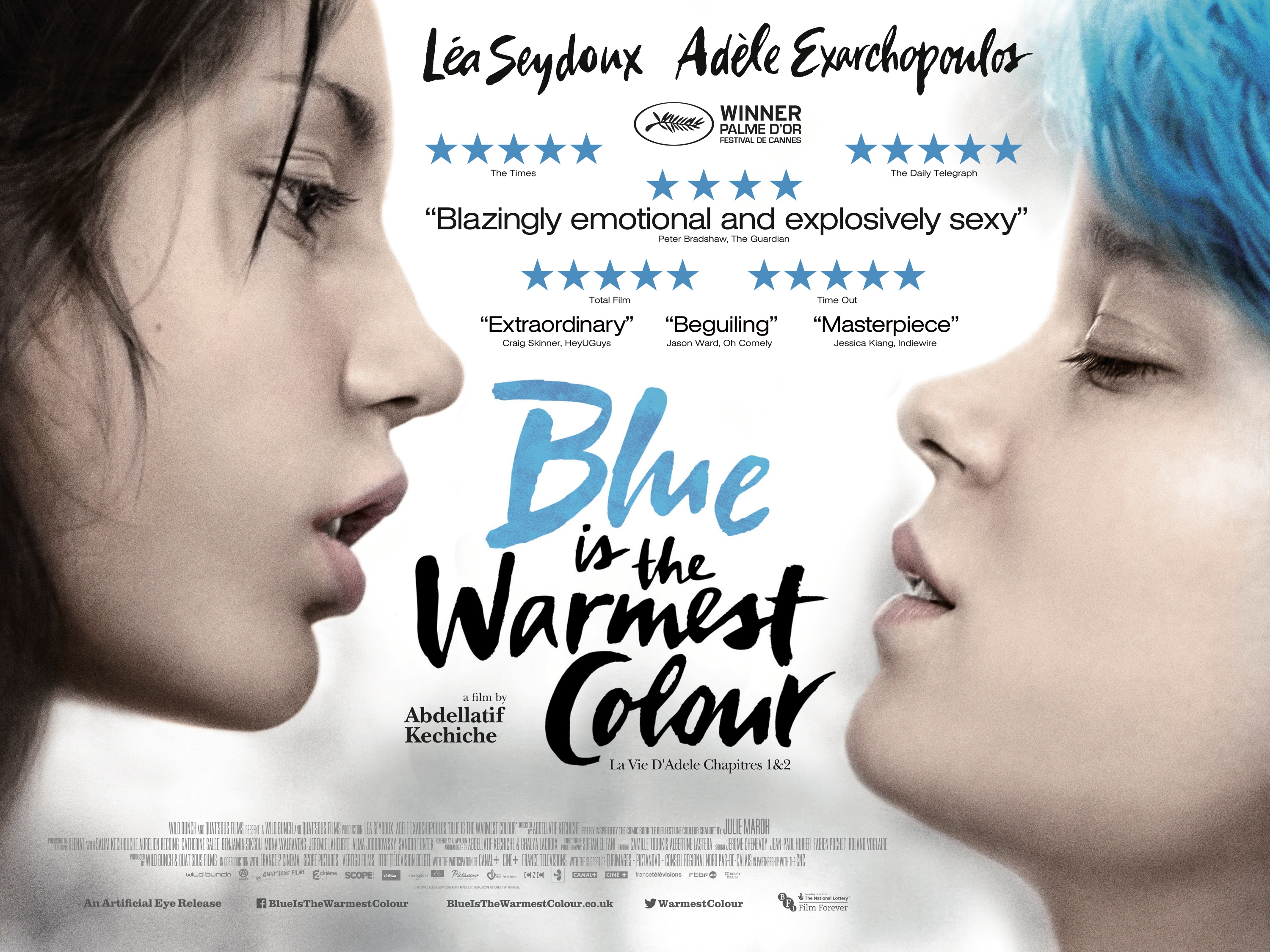 Image result for Blue Is the Warmest