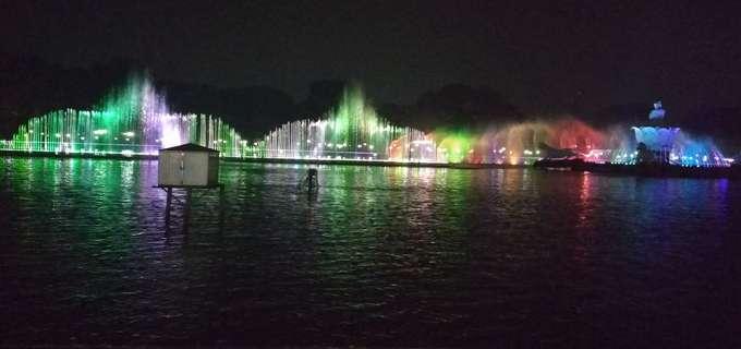 Menikmati Air Mancur Sri Baduga,Wisata Di Purwakarta Yang Lagi Hits