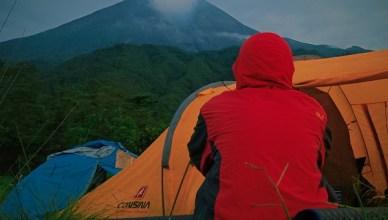 Camping di Bukit Klangon