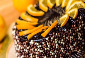 Narancsos trüffel 6 szeletes