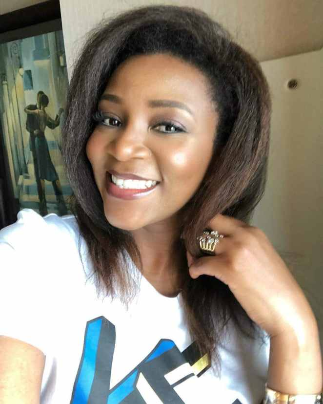 Before and after pictures of Genevieve Nnaji as she marks her 39th birthday