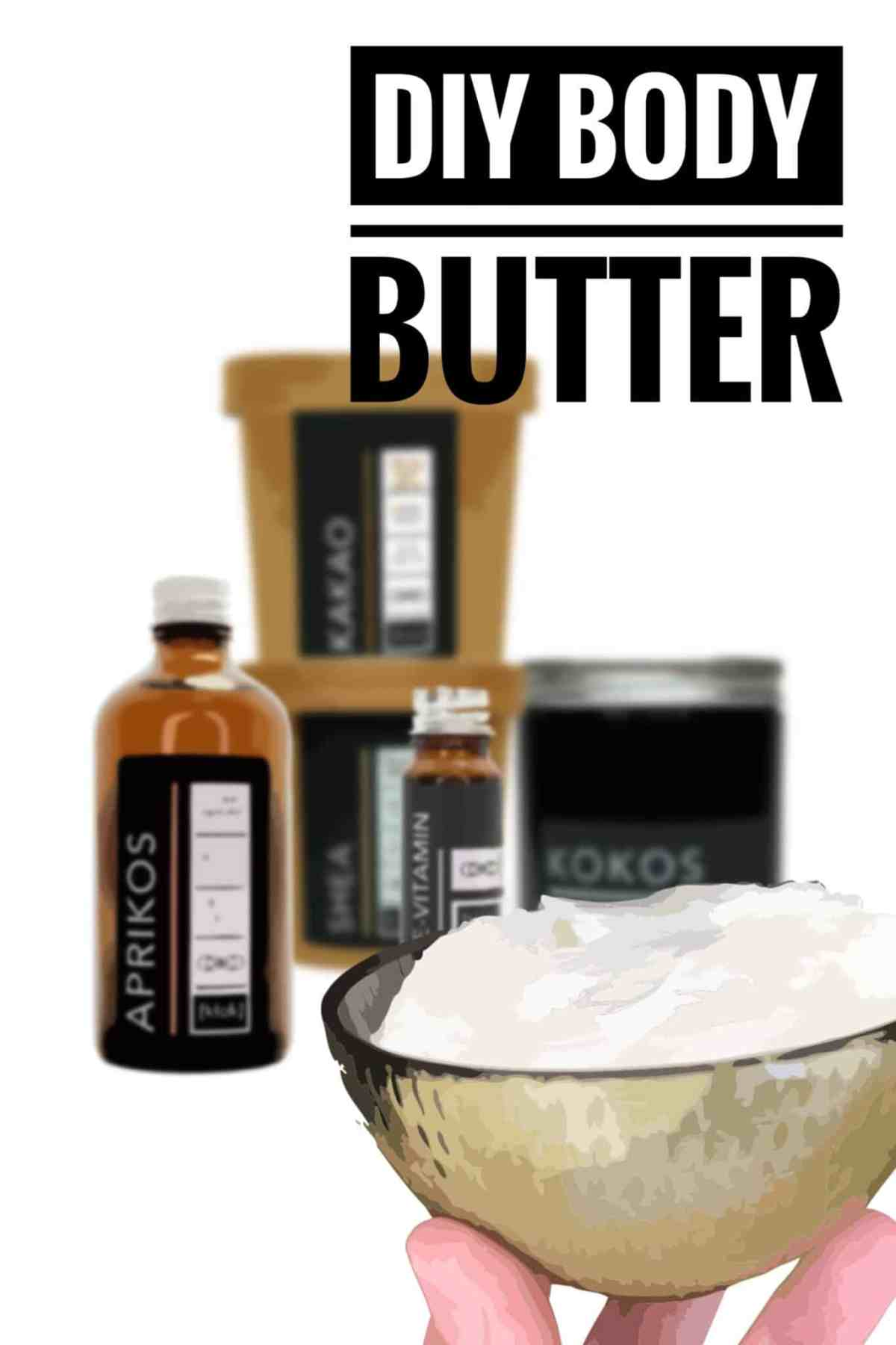 Body butter med råvaror