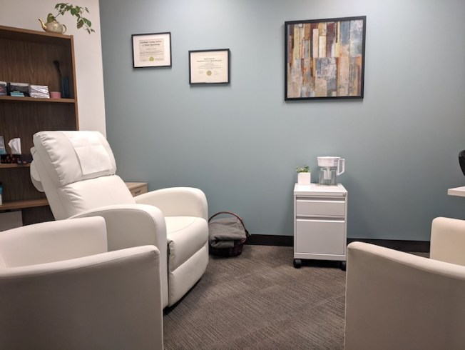 Hypnotherapy Room in Downtown Vancouver