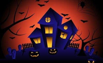 haunted house halloween Kemila's Blog