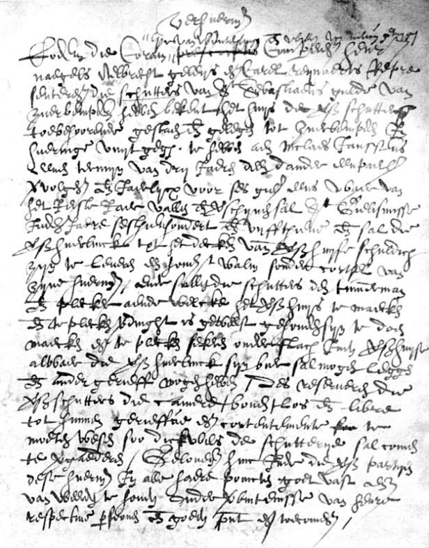 2007-11-23 -- Zijsprokkel Schutters in Zuurbemde -- Originele tekst extract.jpg