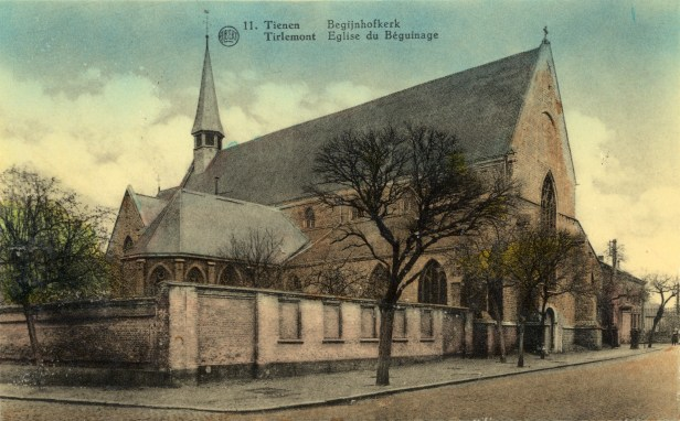 "Postkaart ""Begijnhofkerk"""