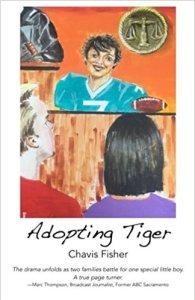 adopting tiger, chavis fisher