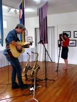 Rehearsal - Katy Hopkins and Ian Sherwood
