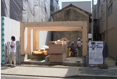 木造 門型 ラーメンフレーム 納品実績 賢 東京都江戸川区 3