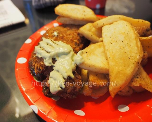 Lemon & Fennel Panko Hake with Seaweed Salted Chips
