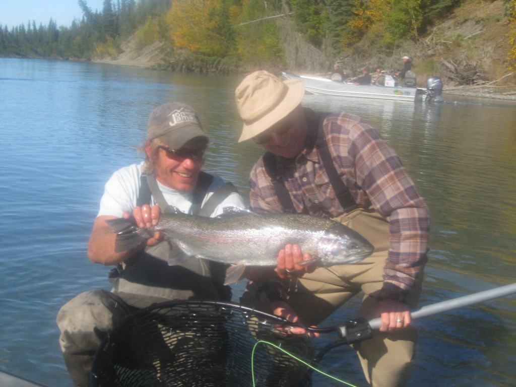 beautiful middle kenai river rainbow trout