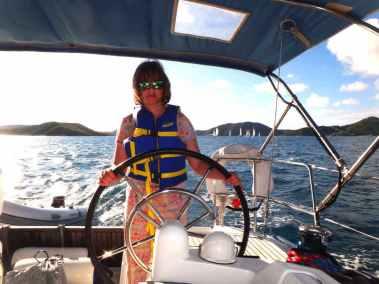 Monica Sailing