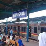 Jalur 4 dan 5 Stasiun Manggarai Ditutup,Begini Penyesuaian Rute KRL Commuter Line
