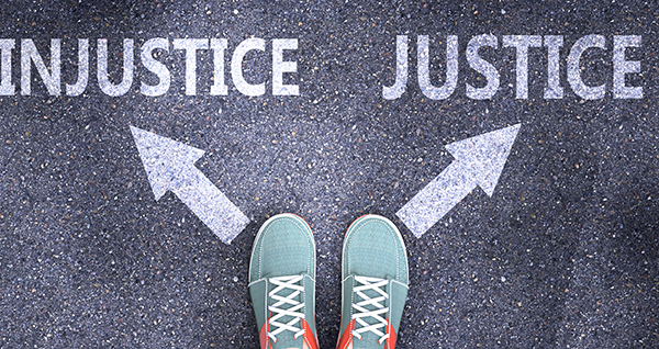 The justice injustice path