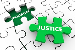 Justice injustice puzzle