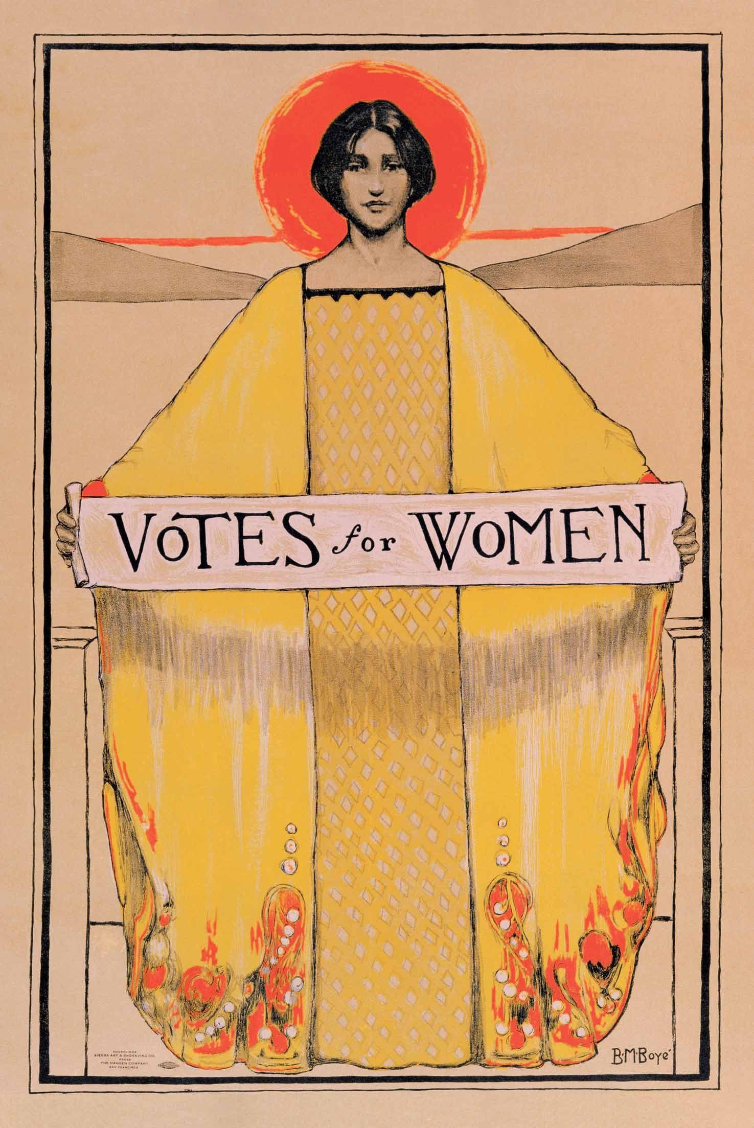 The Art of Suffrage: Struggle, Sacrifice and Success
