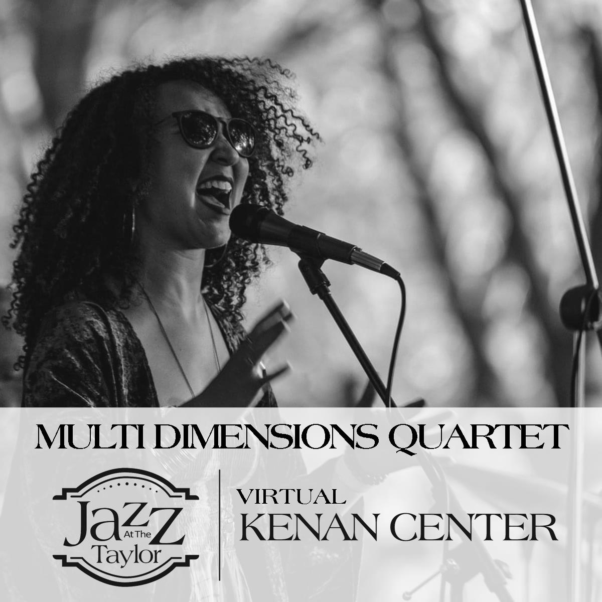 Jazz at the Taylor with Multi Dimensions Quartet
