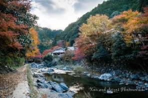 Sagakiyotaki River View