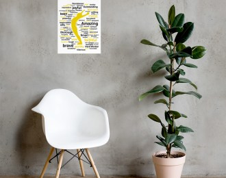 Words Around You Poster