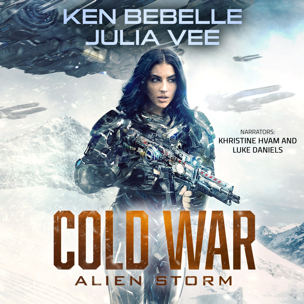 Alien Storm audio cover