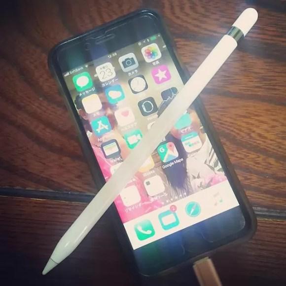 なんで新しいiPhoneにしないのかというと、Apple Pencilに対応してないから。変えるならiPhone X じゃなく絶対ココ️来年対応らしいよ#iPhone #applepencil #JAMROCK