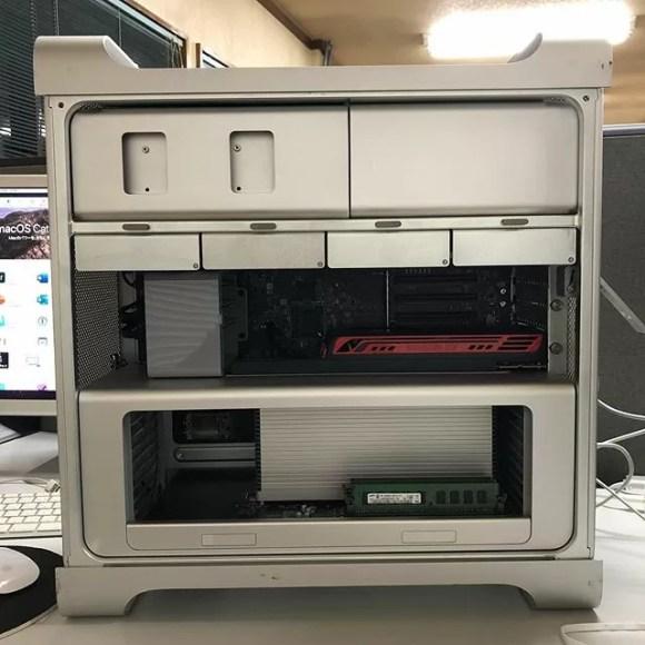 #mid2012 #macpro ちょっとだけ新しい型にした