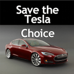 Save the Tesla Choice is a facebook group.