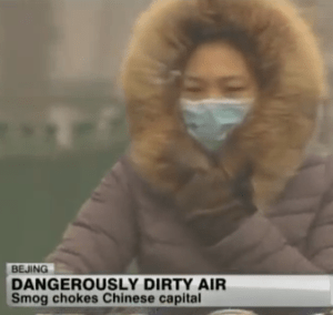 Chinese government fights pollution