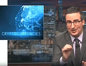 John Oliver on bitcoin