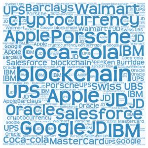 Big Biz on the blockchain