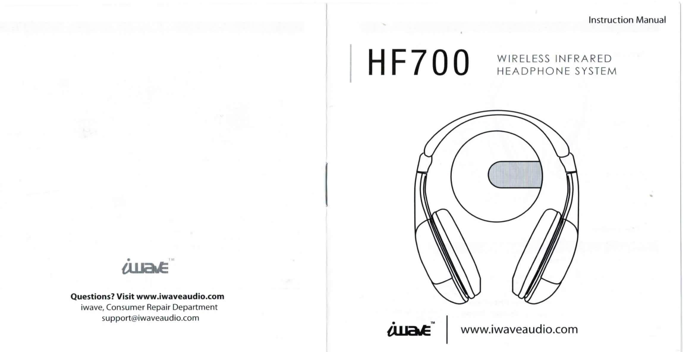 Iwave Hf 700 Wireless Headphones