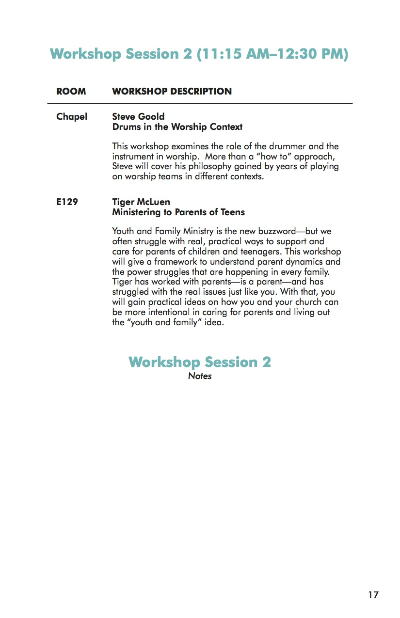 NEXT Conference 2014 Workbook Session 2-2