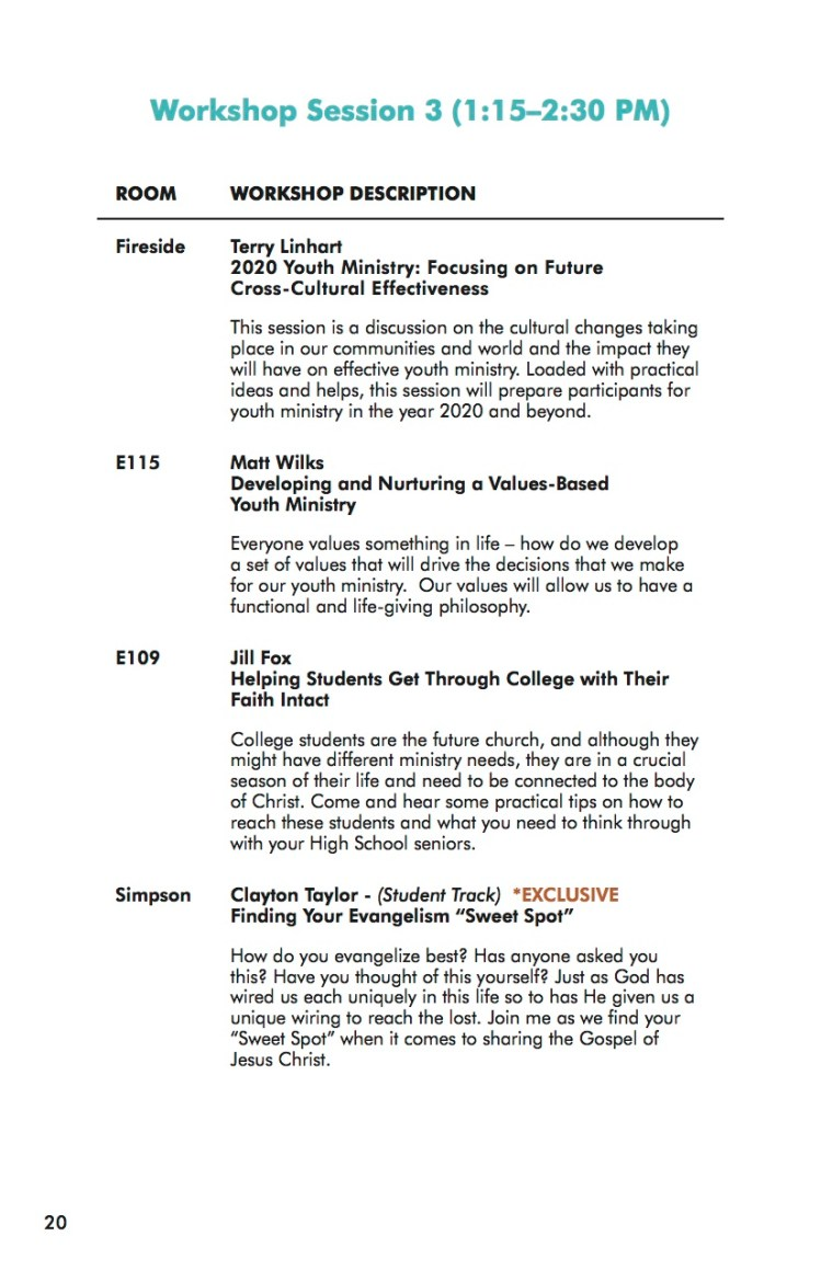 NEXT Conference 2014 Workbook Session 3-1