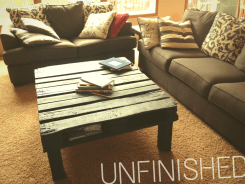 The unfinished product