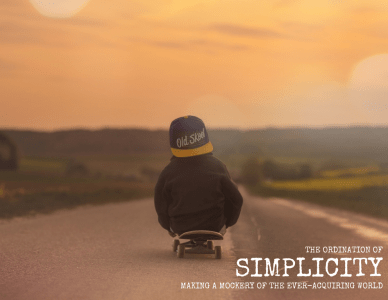 the ordination of simplicity