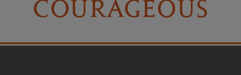 Strong & Courageous: 365 Daily Devotions for Fathers