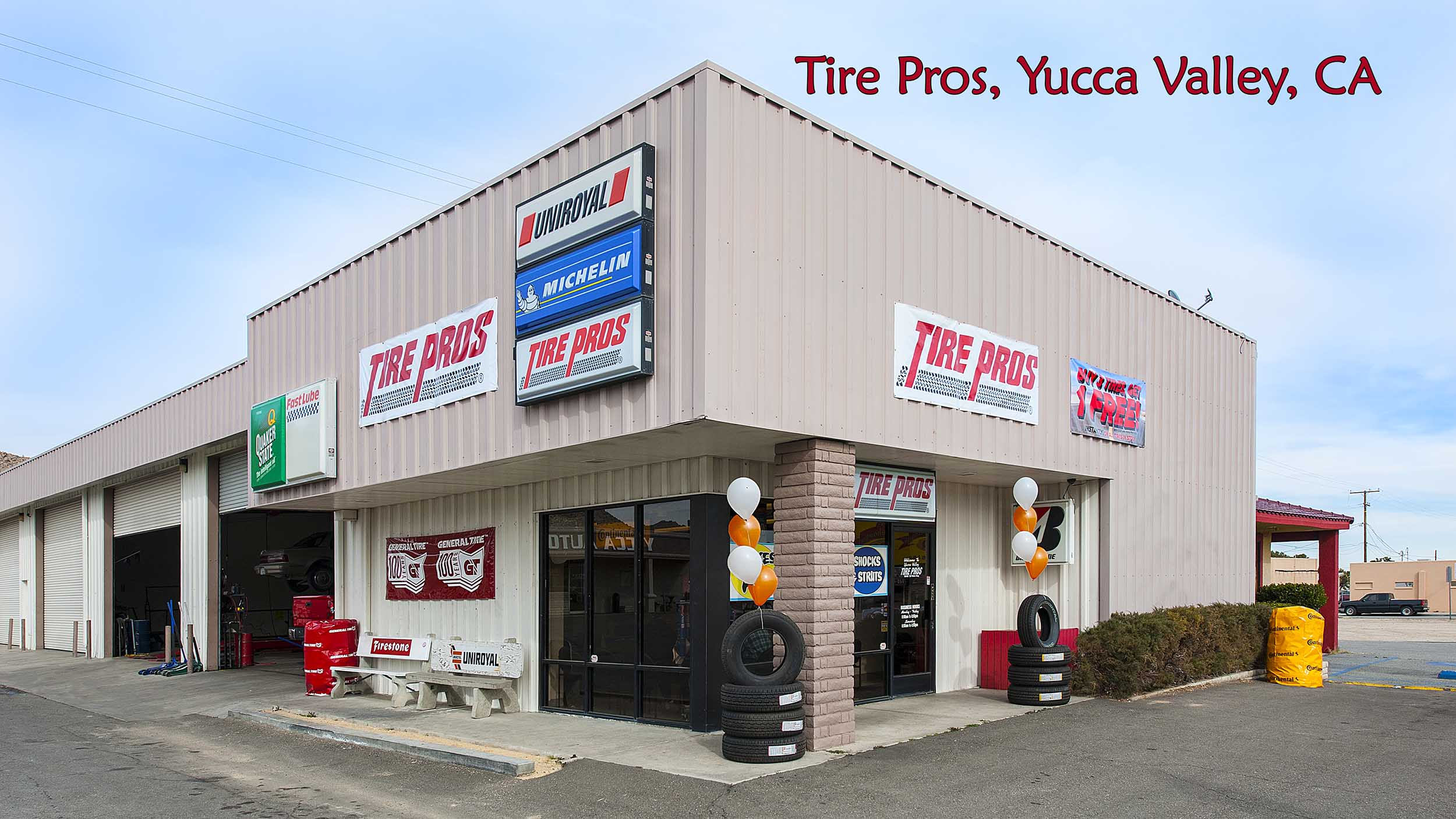 The Tire Pros, Yucca Valley, CA