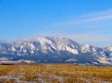 Front Range Views from Just Outside of Boulder