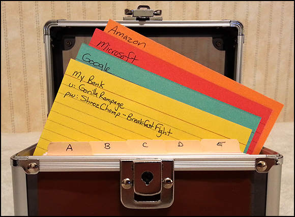 A Box of Index Cards