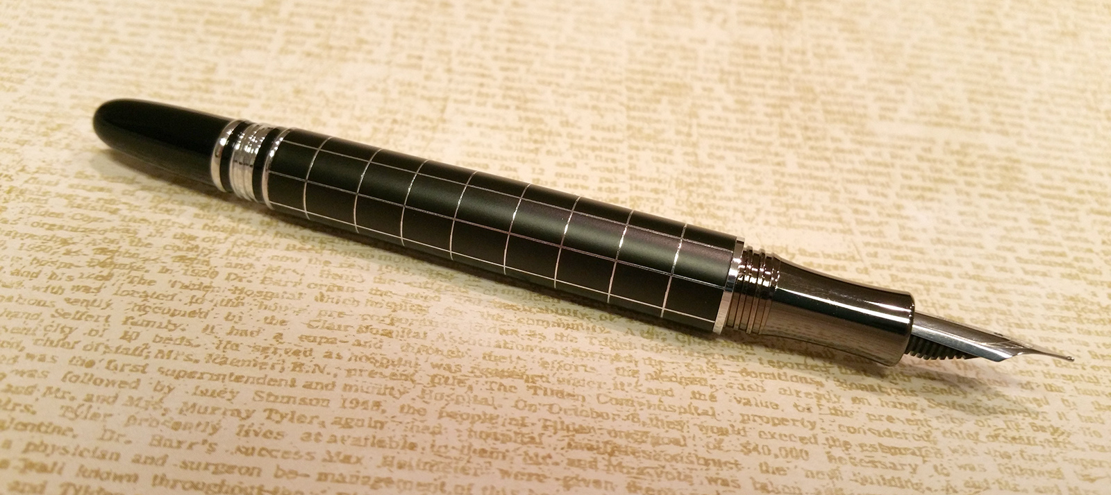 "Baoer 79 ""Skywalker"" Fountain Pen Without Cap"